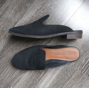 Lucky black mules